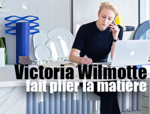 VICTORIA WILMOTTE PLIE LA MATIERE
