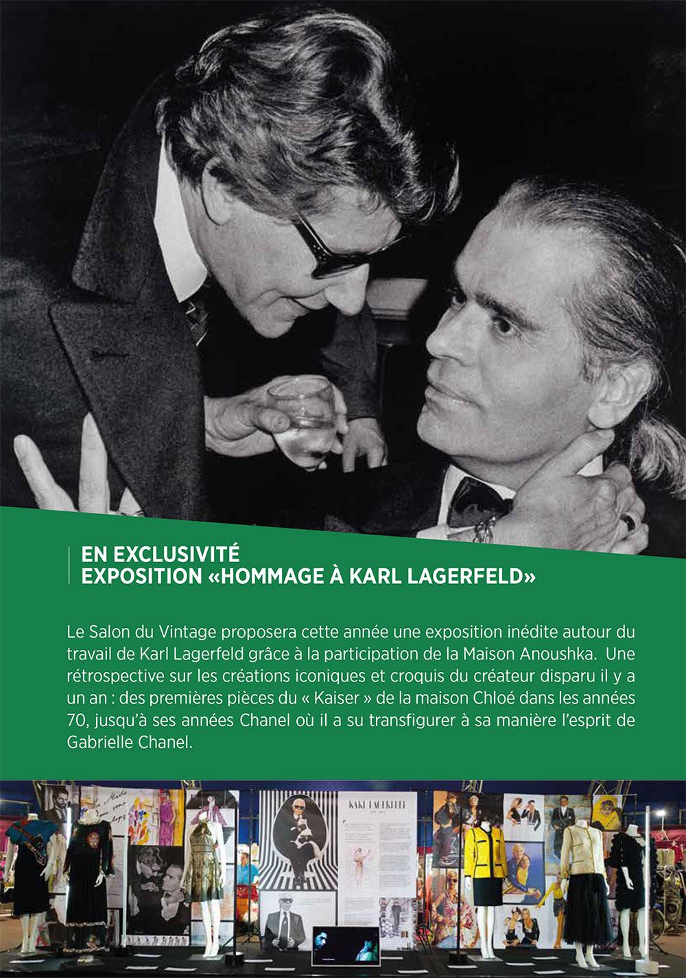 Exposition KARL LAGERFELD