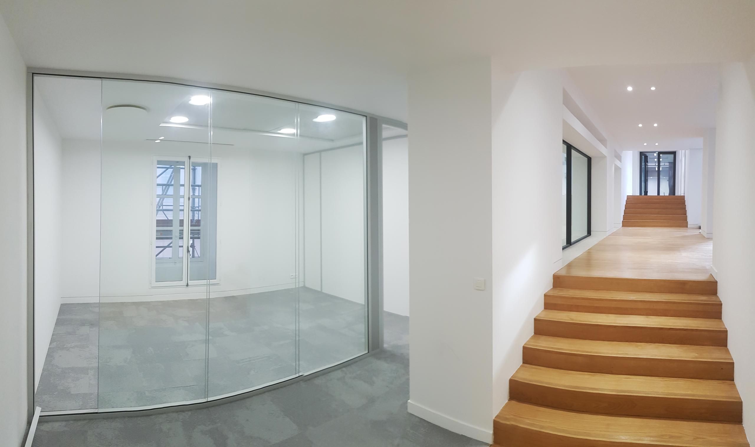 Aménagement bureaux immeuble classé dans Paris