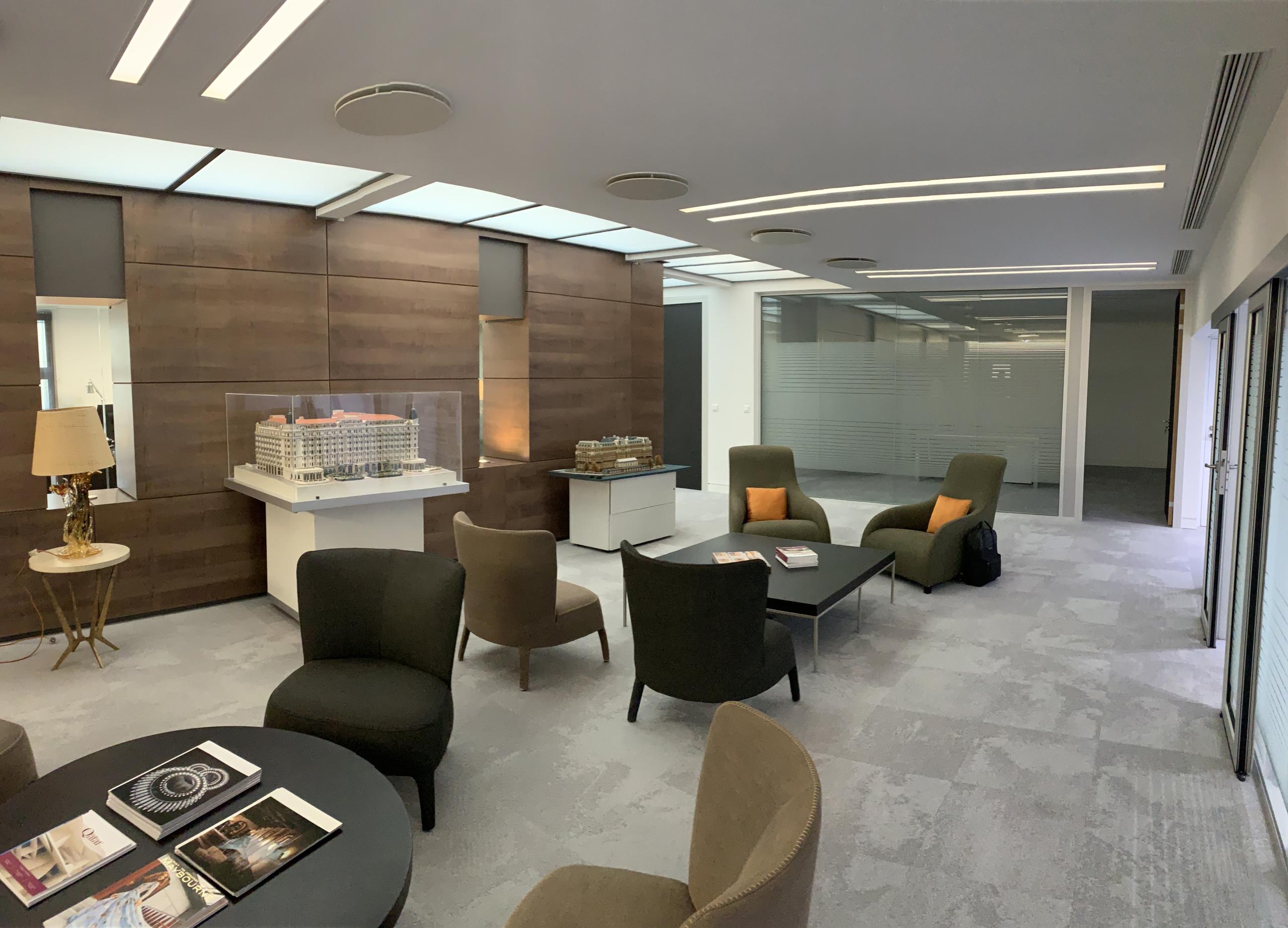 Paris architecte intérieur aménagement bureaux