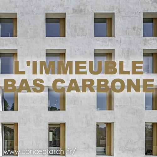 La france et le batiment bas carbone