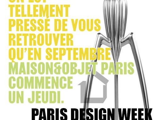 PARIS DESIGN WEEK 2021